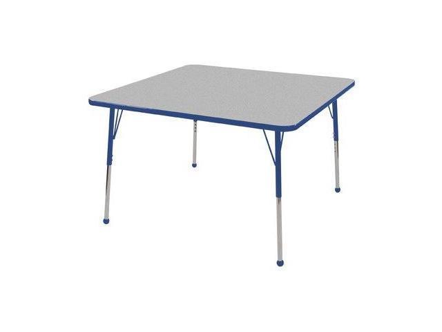 48'' Square Adj Activity Table (15