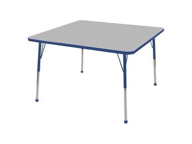 48'' Square Adj Activity Table (15
