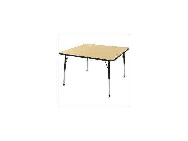 48'' Square Adj Activity Table (19