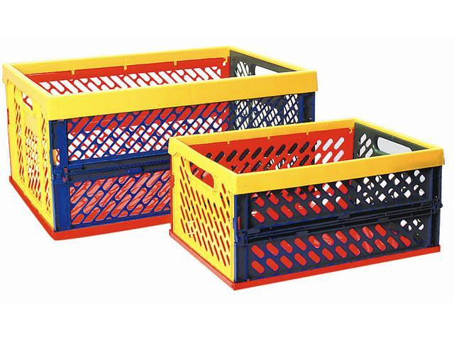 Large Ventilated Collapsible Crate (Primary)