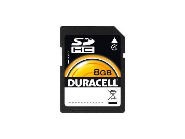 Duracell DU-SD-8192-R 8 GB Secure Digital High Capacity (SDHC)