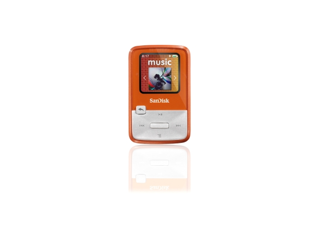SanDisk Sansa Clip Zip Lime 4GB MP3 Player SDMX22-004G-A57L