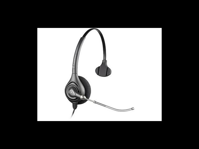 Plantronics SupraPlus Monaural Over-the-Head Wideband Headset