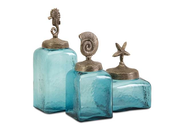 IMAX, Sea Life Canisters- Set of 3