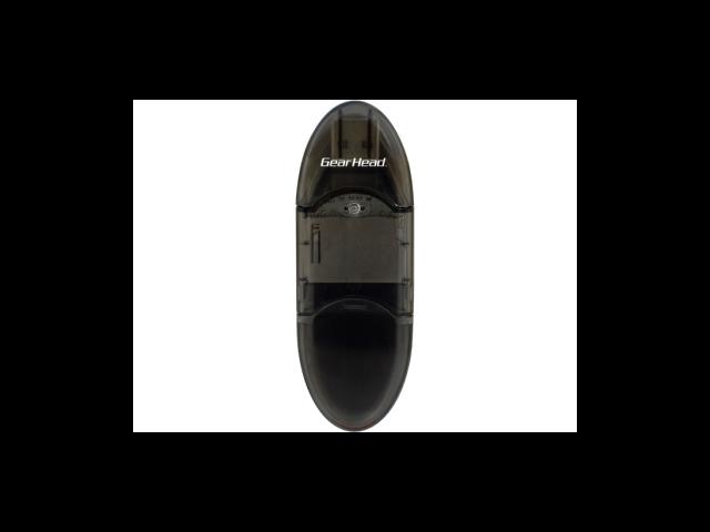Gear Head CR3800SDBLK Gear head black usb 2 0 digital sd /sdhc card reader