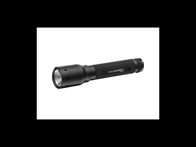 LED Lenser P5, 95 Lumens Flashlight, Advanced Focus, w/ Black Sheath #880011