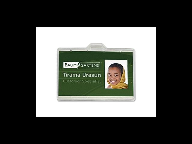 ID Card Holder Horizontal 2-1/8