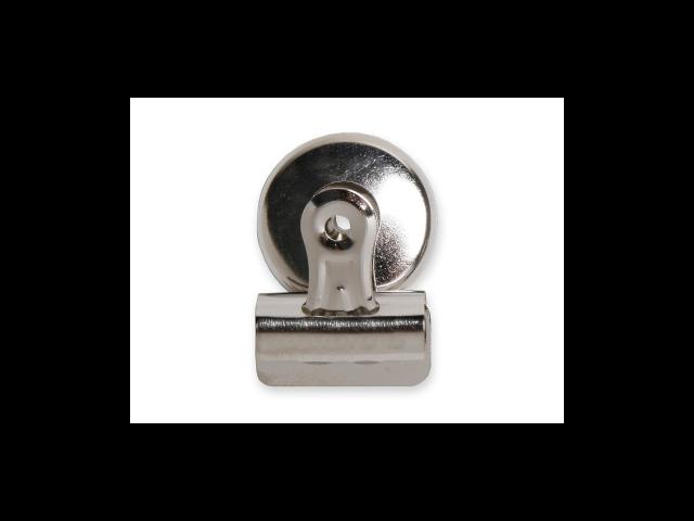 Bulldog Clip Magnetic Back Size 1 1-1/4