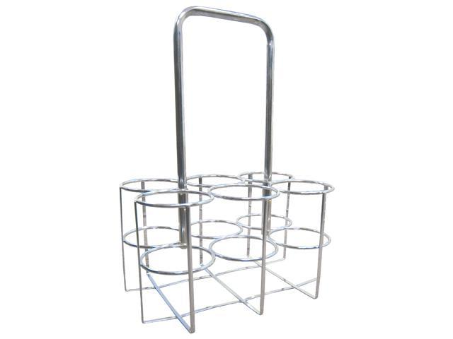 Oxygen Cylinder Carrier, Size: Holds 6 Cylinders  Cylinder Size: M9 {C} Cylinders