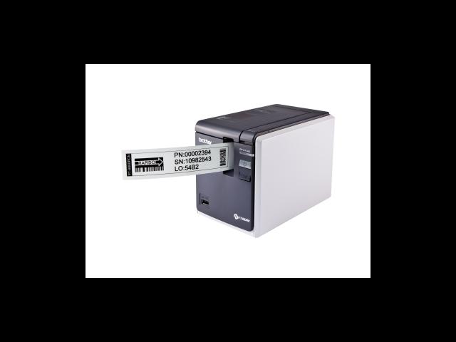 Brother P-touch PT-9800PCN Thermal Transfer Printer - Monochrome - Desktop - Label Print