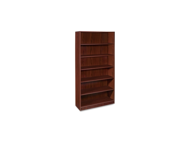 6-Shelf Bookcase 1 Fixed Shelf 36