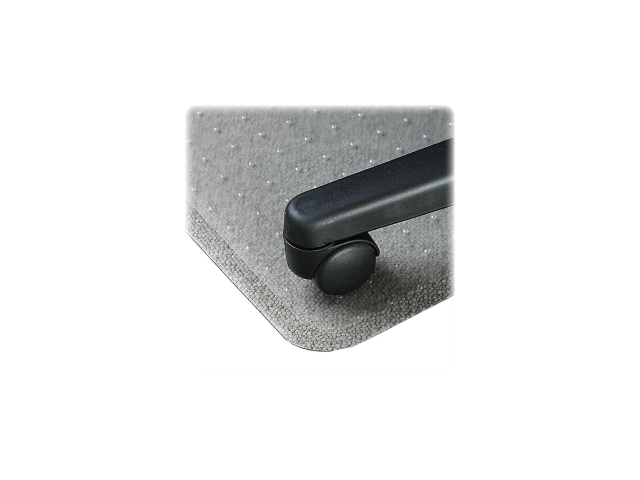 Lorell 02156 Economy Weight Chair Mat Carpeted Floor, 48