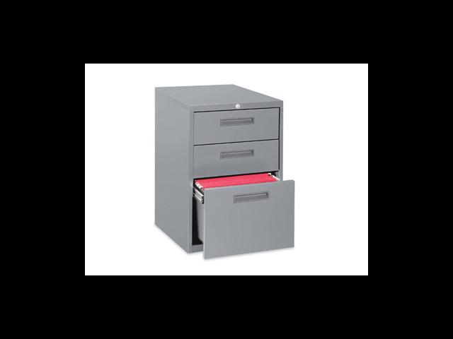 Lorell Box/Box/File Mobile Pedestal Files  - Light Gray