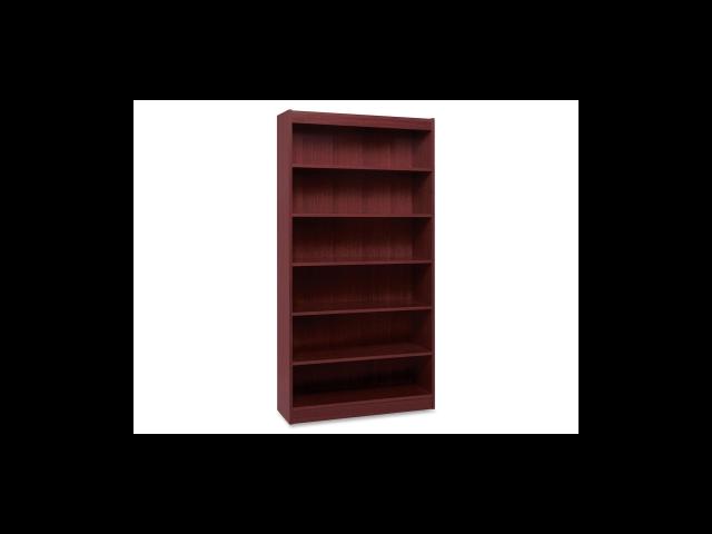 Lorell Panel End Hardwood Veneer Bookcase 1 EA