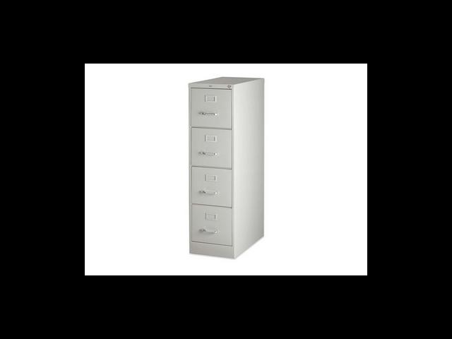 4-Drawer Vertical File w/ Lock 15