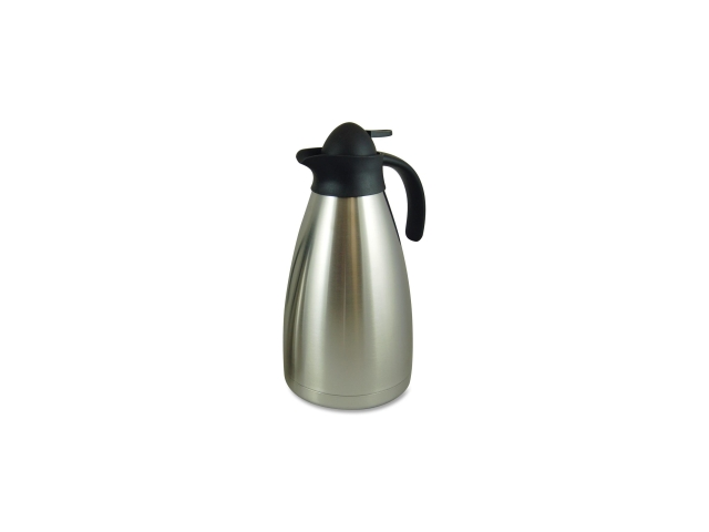 Contemporary Vacuum Carafe 2.0L. Stainless Steel
