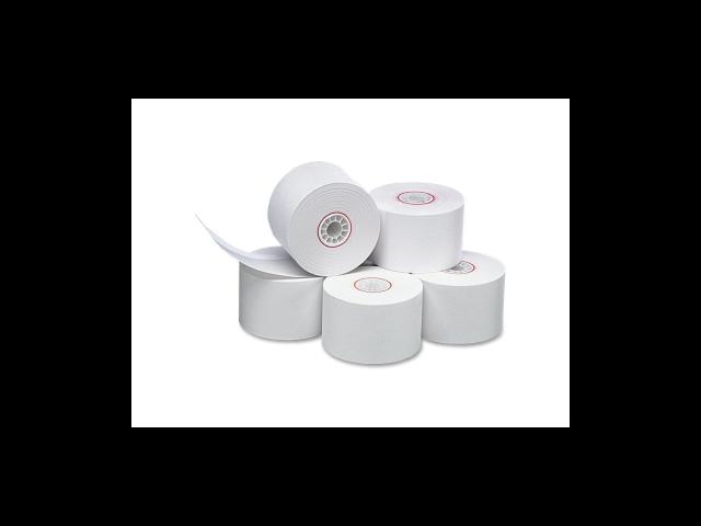 Paper Rolls Single Ply Bond 44mmX155' 10/PK WE