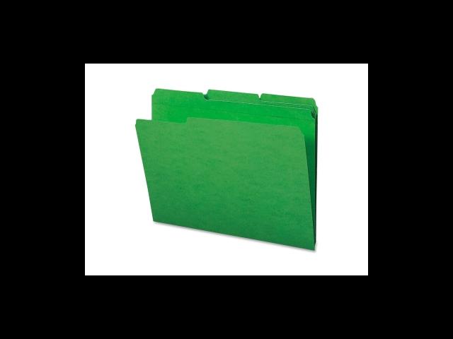 File Folder Ltr 11PT 1/3