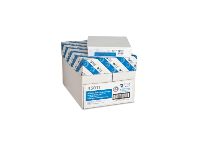 Elite Image Punched Copy Paper 10 PK/CT