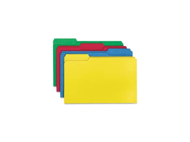 Color File Folders Legal 11PT 1/3 Cut 1