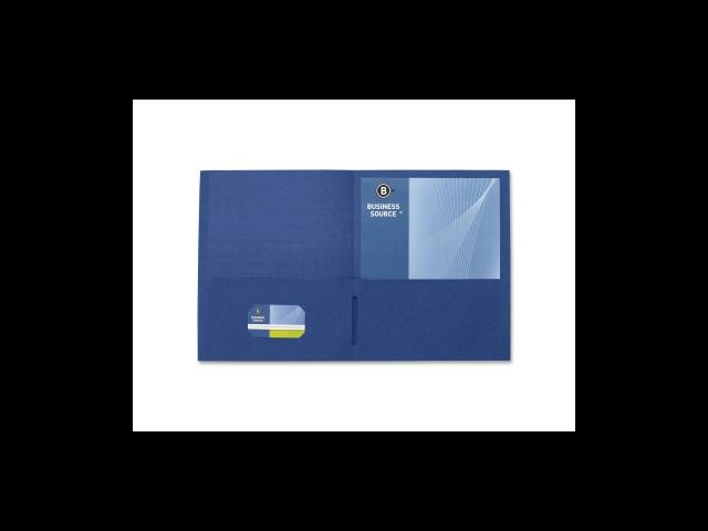 2-Pocket Folders 125 Sht Cap Letter 12