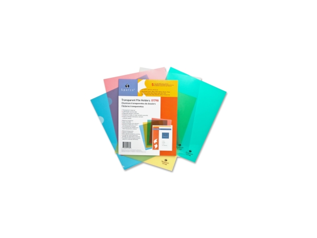 Transparent File Holders Water Resistant 11
