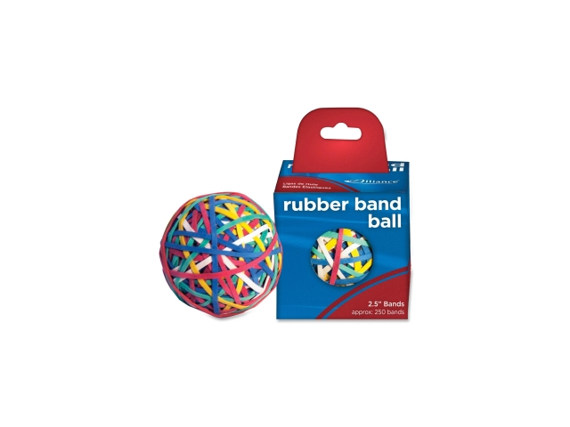 Alliance Rubber Rubber Band Ball 6 EA/BX