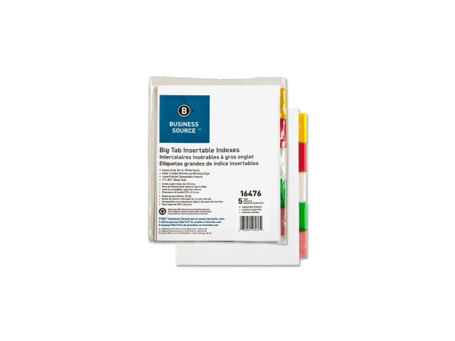 Index Dividers 5-Tabs 11