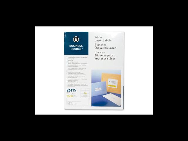 Mailing Labels Laser 1-1/3