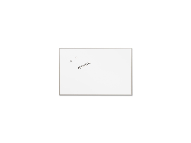 Matrix Magnetic Boards Painted Steel 48 x 31 White Aluminum Frame