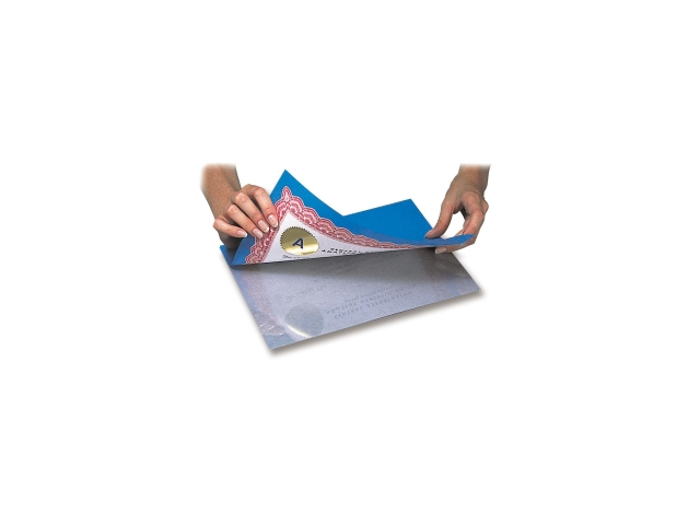 "Heavyweight Cleer Adheer Laminating Film 4""X5"" 4/Pkg-"