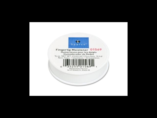 Fingertip Moistener Odorless Greaseless Hygienic 3/8 oz.