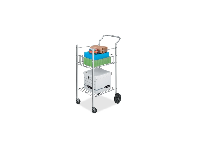 Mail Cart Holds 75 Ltr/Lgl Fldrs 19-1/2