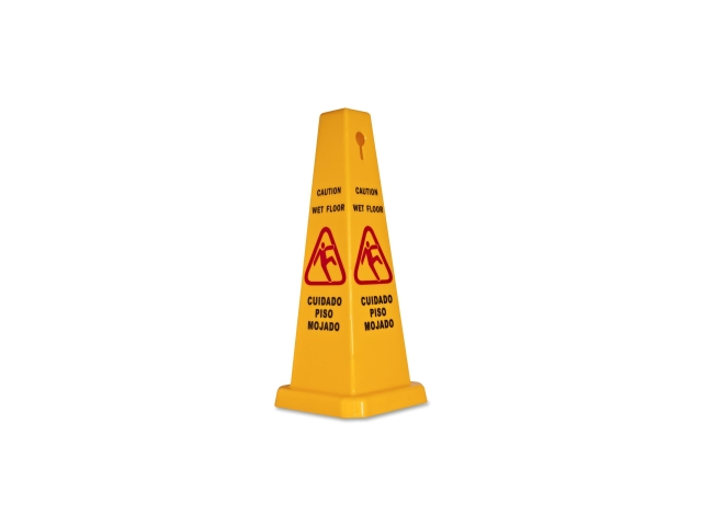 Caution Safety Cone 4-Sided 10