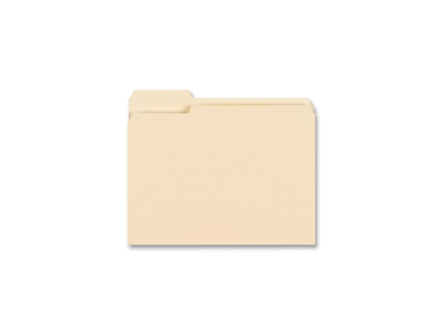 Business Source 16490 Top Tab File Folder 8.50