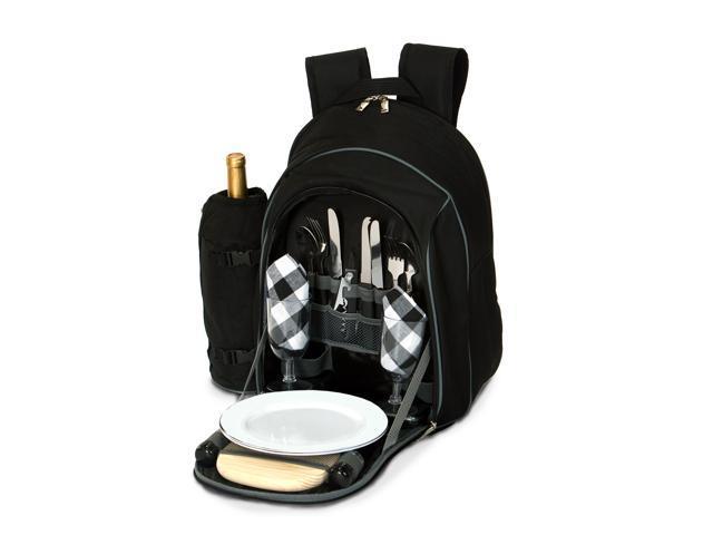 Picnic Plus Endeavor 2 Person Picnic Backpack - Black