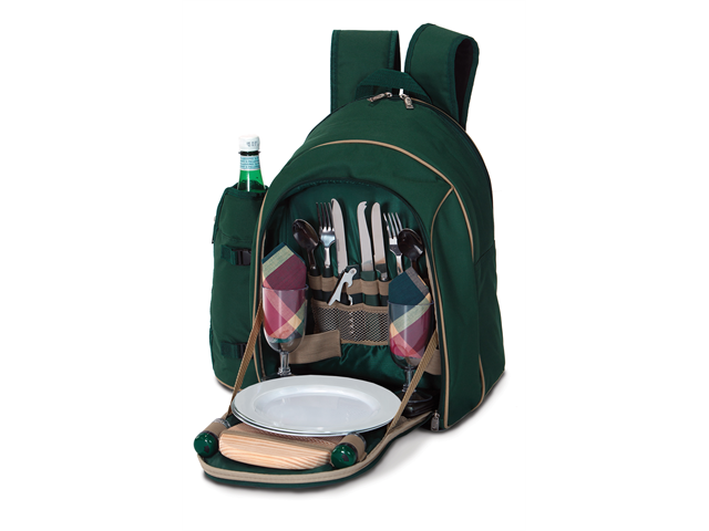 Picnic Plus Endeavor 2 Person Picnic Backpack - Green