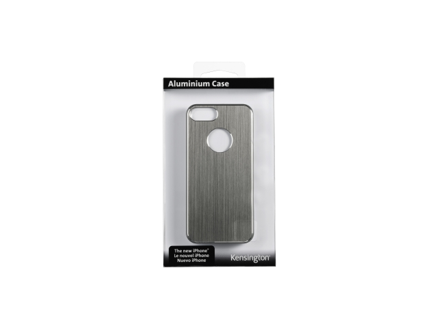 Kensington Gray Solid Aluminum Finish Case for iPhone 5 K39681WW