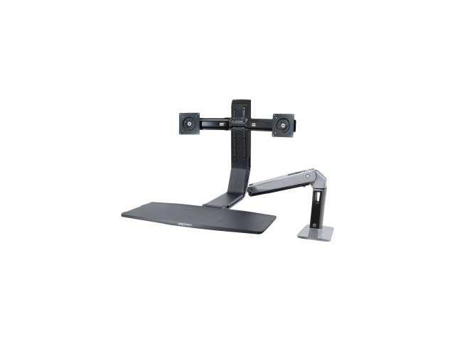 Ergotron 24-312-026 Mounting Arm with 19.5-Inch Height Adjustment