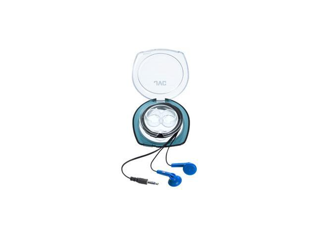 JVC HAF10CA In-Ear Headphones with Case, Blue