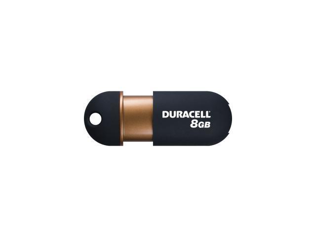 Duracell 8GB Capless DU-ZP-08G-CA-N3-R USB 2.0 Flash Drive