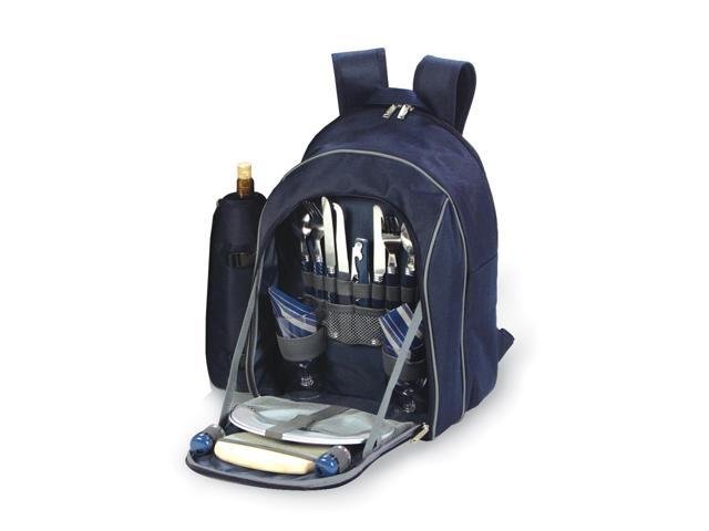 Picnic Plus Endeavor 2 Person Picnic Backpack-Navy