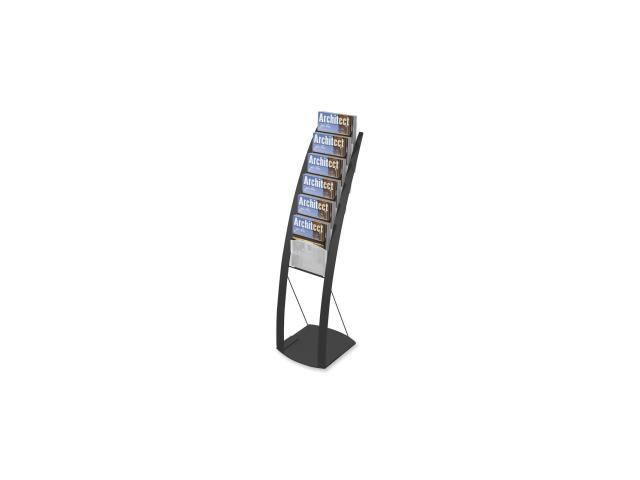 Deflect-o Contemporary Literature Floor Stand 1 EA