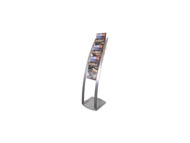 Deflect-o Contemporary Literature Floor Stand 1 EA