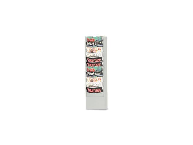 Buddy Eclipse Curved Literature Rack 1 EA