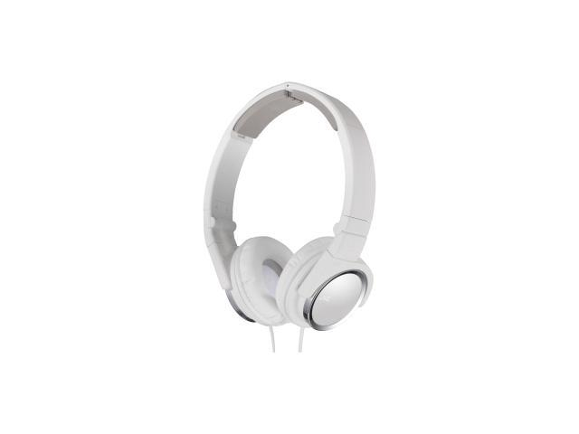 JVC HAS400W On-Ear Headband Headphones, White