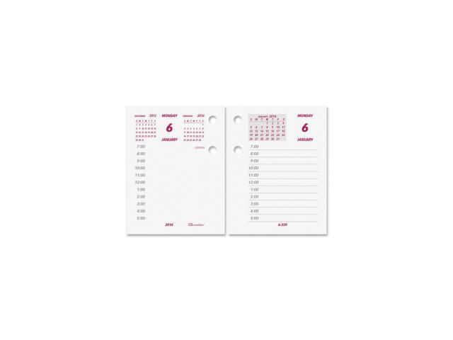 Brownline Daily Calendar Refill 100 EA/CT