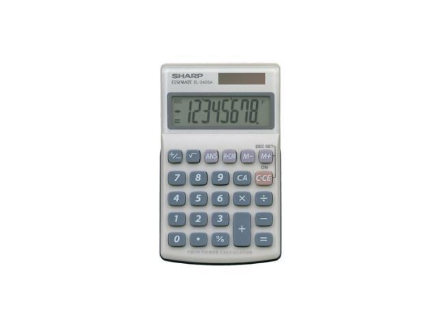 Sharp EL-240SAB Desktop Calculator