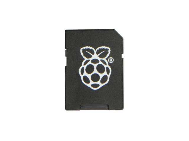 Raspberry Pi SD Card with OS Preloaded - 8GB - OEM
