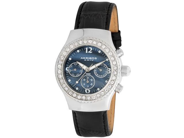 Akribos XXIV Women's Austrian Crystal Multifunction Quartz Watch